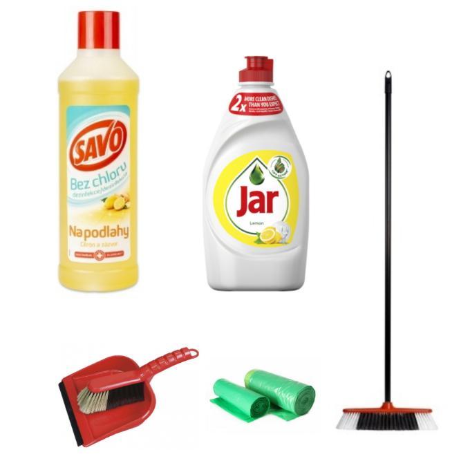 Dezinfekční, úklidové a mycí prostředky