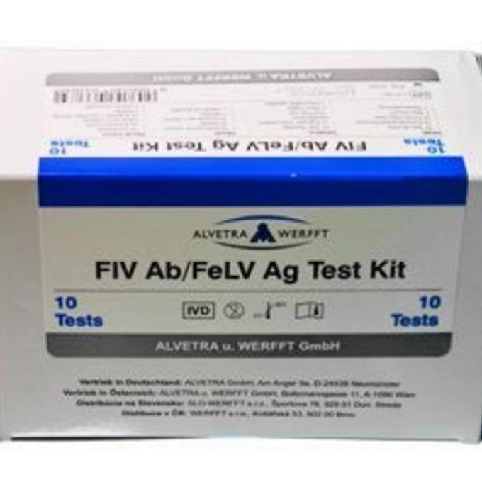 10 testů FIV a FeLV