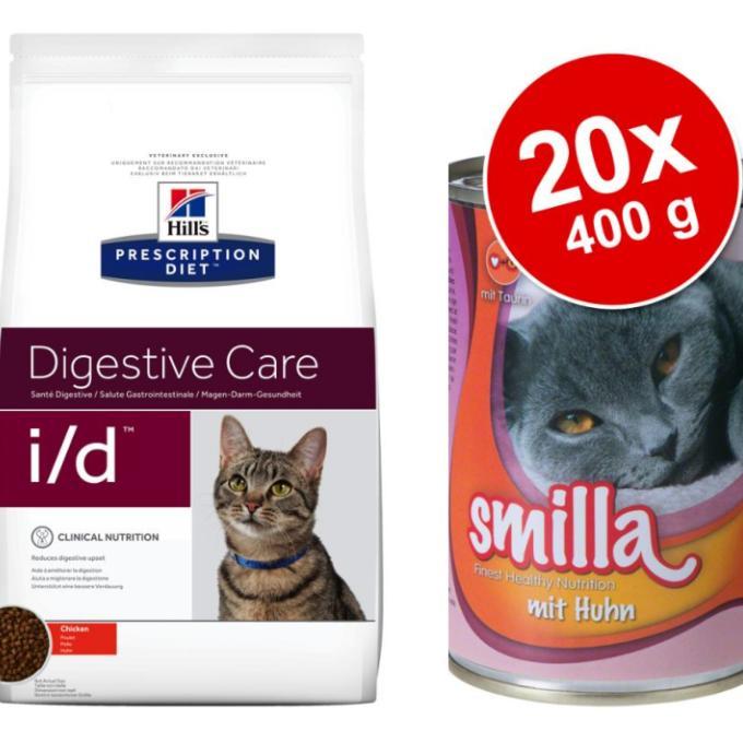 Granule a konzervy pro kočičky