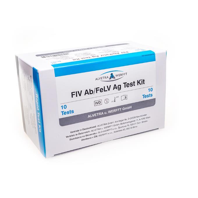 Testy na FIV a FeLV - 20 ks