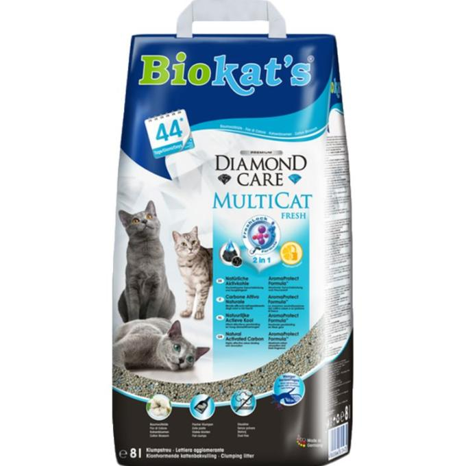 Kvalitní stelivo Biokat's DIAMOND