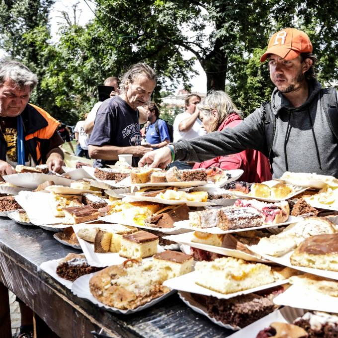 5. Piknik pro lidi bez domova a jejich čtyřnohé přátele