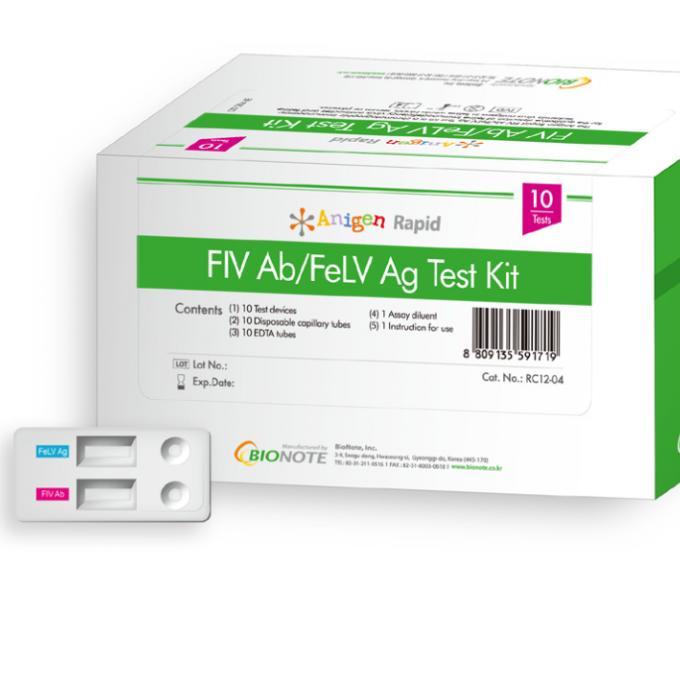 20 testů na kočičí nemoci FIV a FeLV