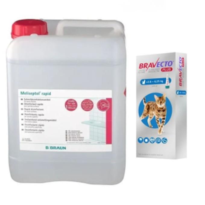 Dezinfekce a odblešovací tablety pro kočičky