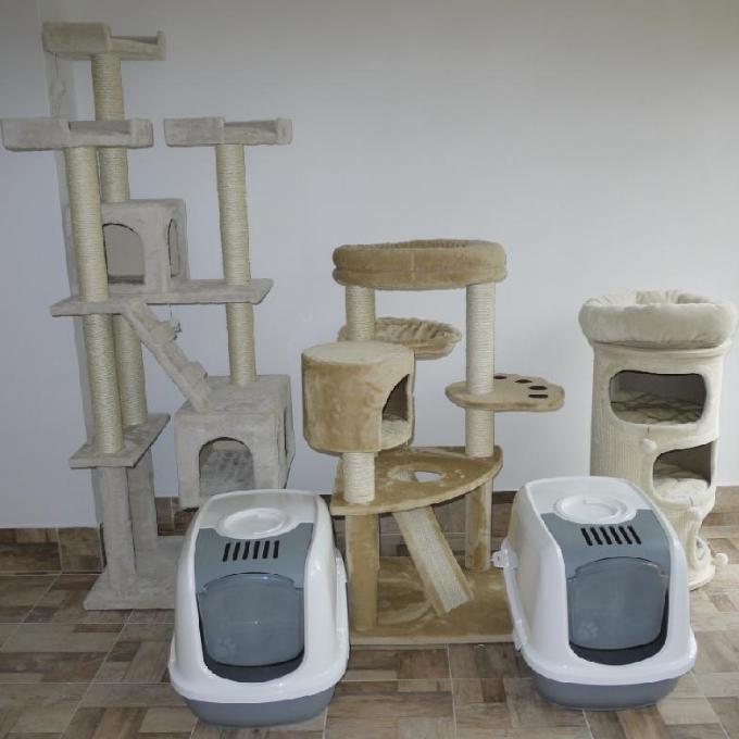 Škrabadla a kočičí wc do nového pokojíčku