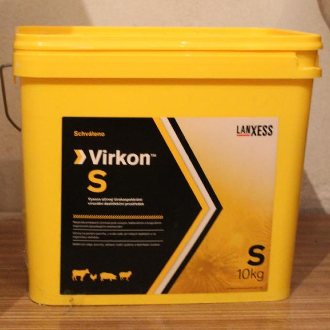 Dezinfekce Virkon S