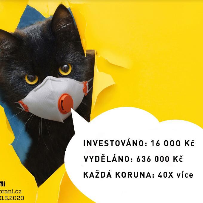Reklama pro jarní Kočičí přání