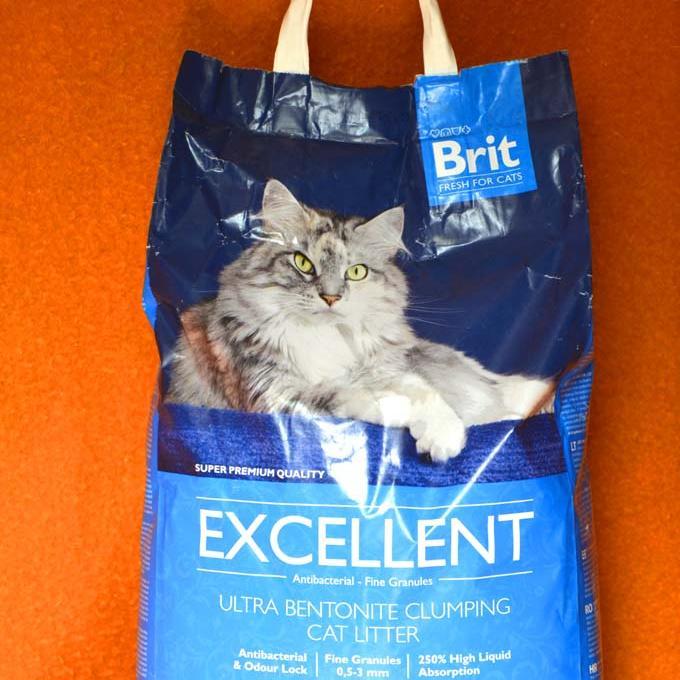 Nezbytné stelivo pro kočičky