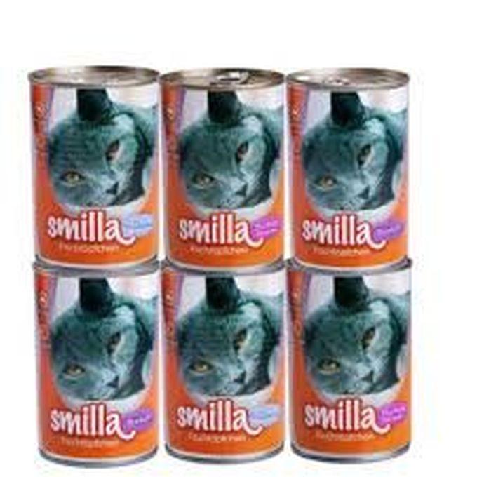 Zásoba konzerv pro kočičky