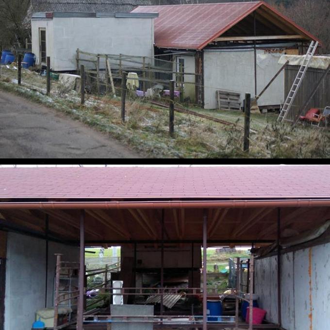 Stavba útulku v Kraslicích - příspěvek na část nákladů